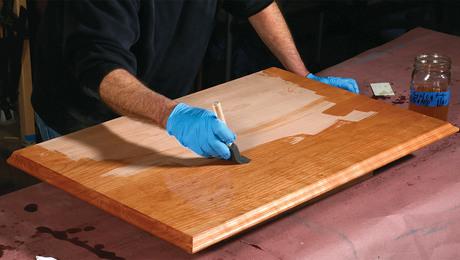 wiping varnish finish
