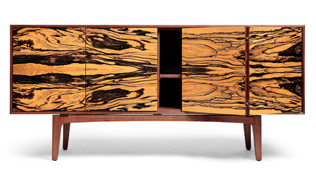 Book-Matched Credenza
