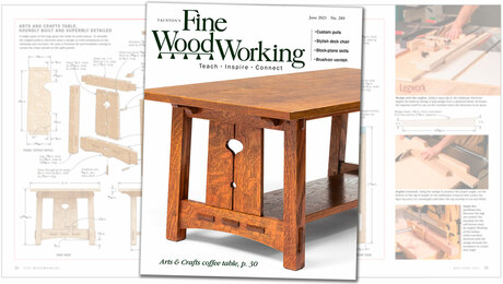 Fine Woodworking Issue 289