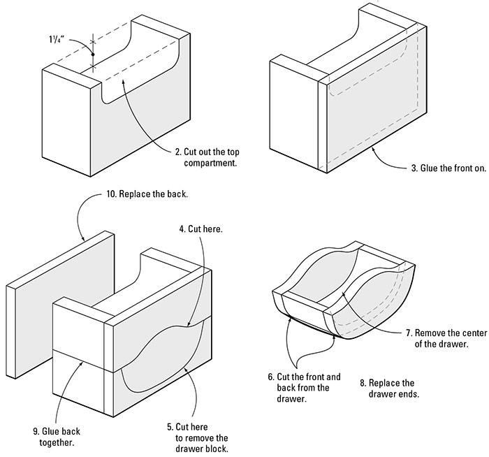 Bandsawn-Box-with-Drawer-drawings