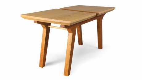 Ash and cherry coffee table