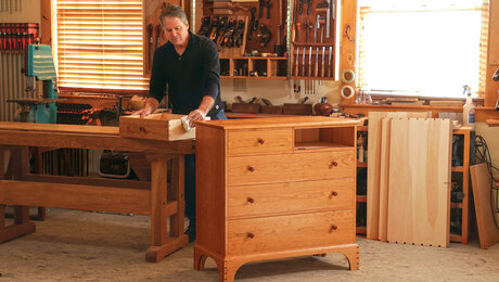 Build a Shaker chest of drawers