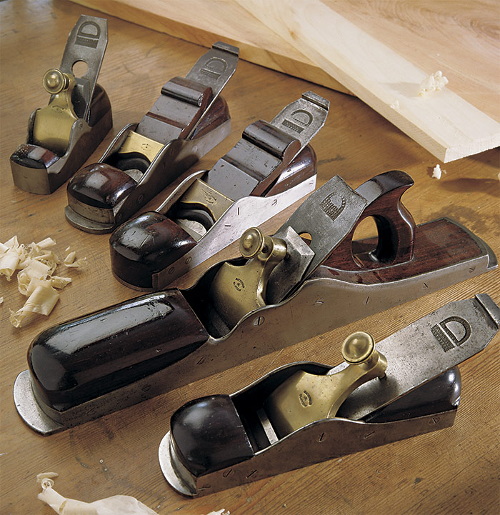 late 19th-century bench planes