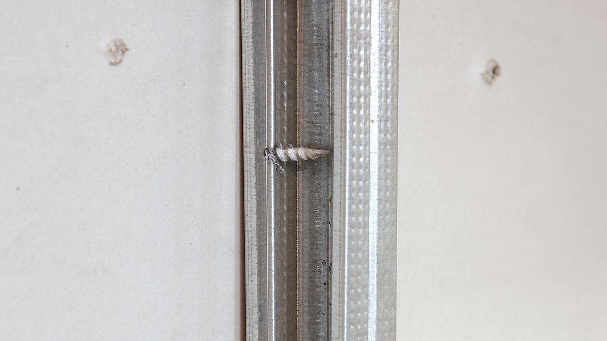 You can use them like a giant screw to attach a workpiece to the wall, or you can use them like an anchor, driving them flush to the drywall and hanging the workpiece using a #8 screw driven into the hollow shank of the 1Shot.
