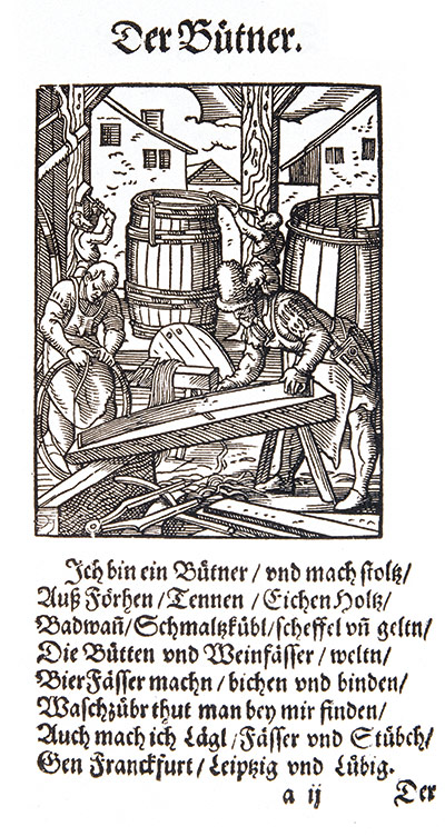 early German etching