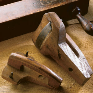 These two unusual shaves could be used to hollow a plank seat or just as easily to shape a shovel or scoop.