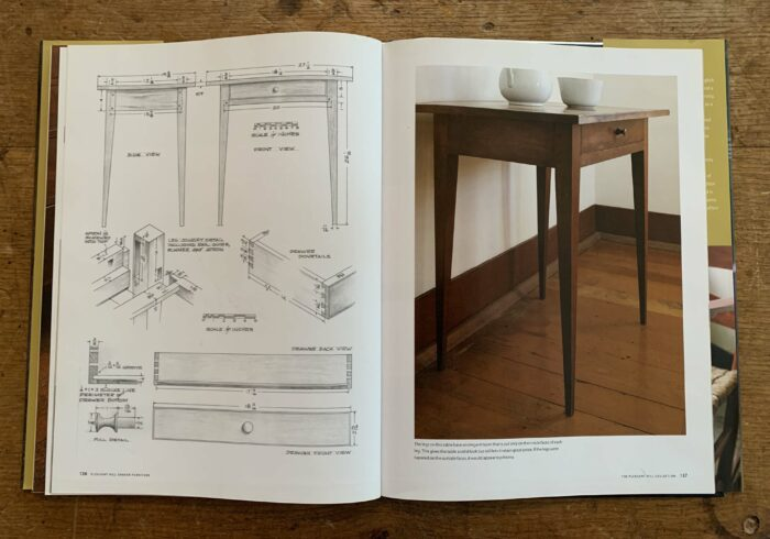 page from Pleasant Hill Shaker Furniture