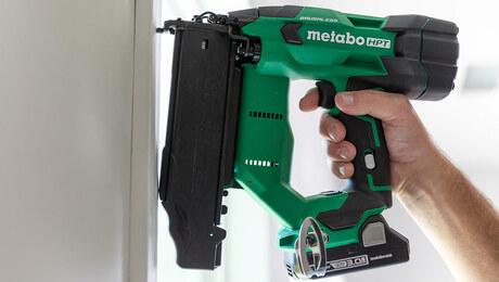 Metabo HPT's New 18V MultiVolt™ Cordless 18-Gauge Brad Nailer