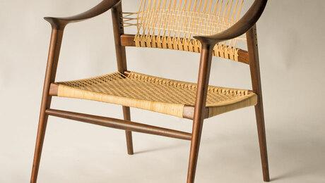 Claro Walnut Chair