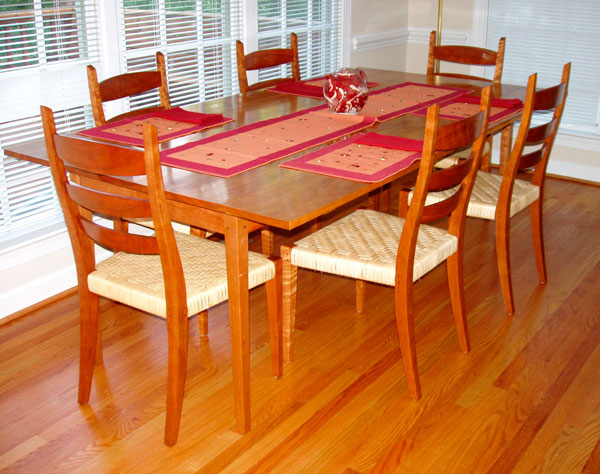 & Harvest Table and Chairs - FineWoodworking
