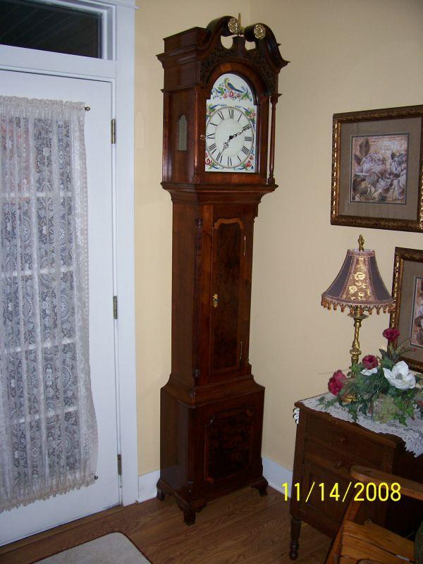 Walnut Grandfather Clock Finewoodworking