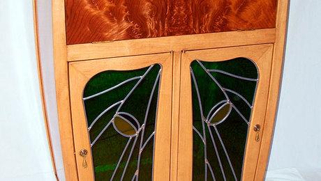 Art Nouveau Cocktail Cabinet - FineWoodworking