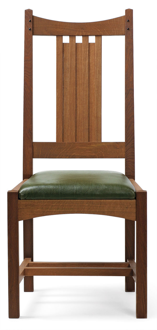 Arts And Crafts Dining Chair Finewoodworking