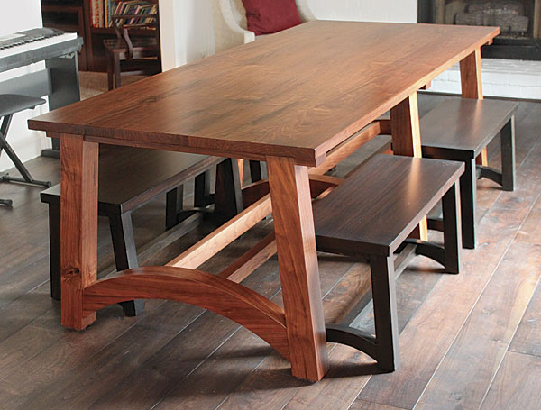 Walnut Dining Table Finewoodworking