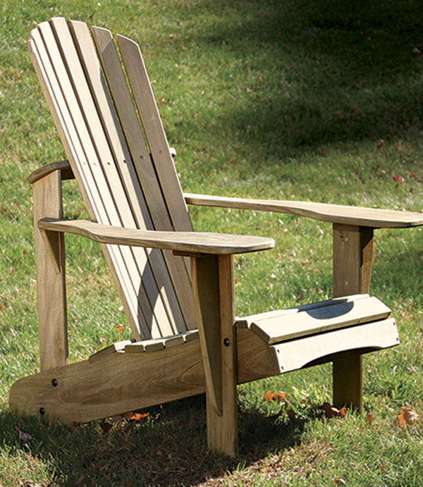 Ordinaire Curved Back Adirondack Chair
