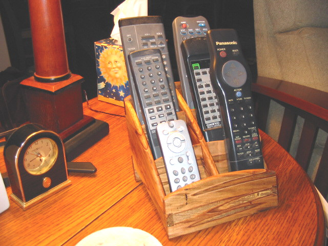 Remote Control Caddy - FineWoodworking