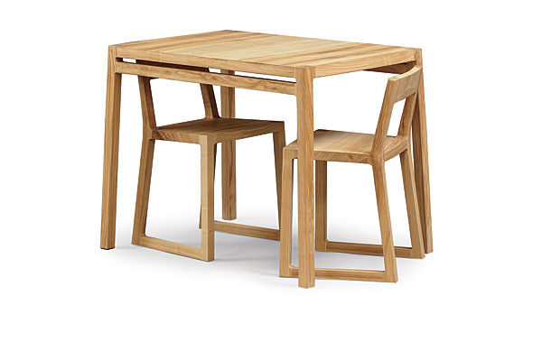Woodworker: Greg Laird. Laird Designed This Ash Dining Set ...