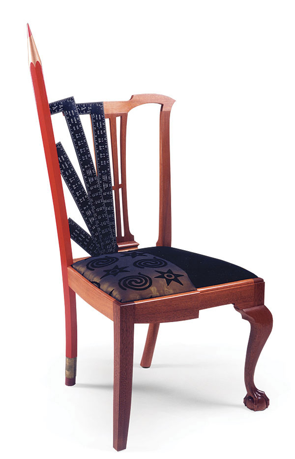 Superbe Woodworker: John P. McCormackMcCormacku0027s Pencil Chair Represents The Two  Sides Of His Training As A Furniture Makeru2014one Of Traditional Craftsmanship  And ...