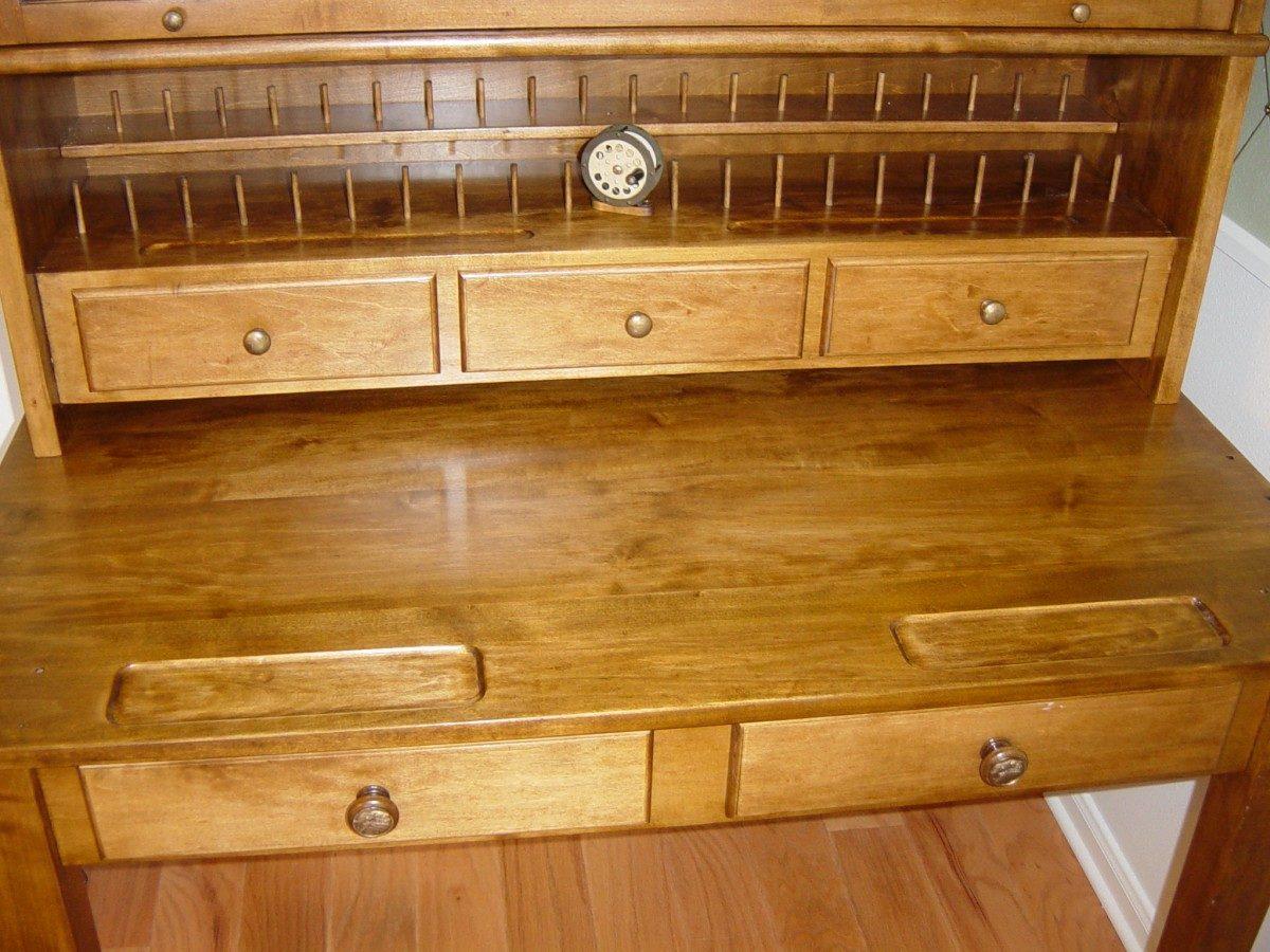 Maple Fly Tying Desk Finewoodworking