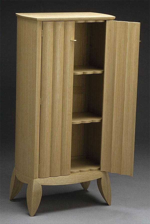 Scalloped Door Cabinet Finewoodworking