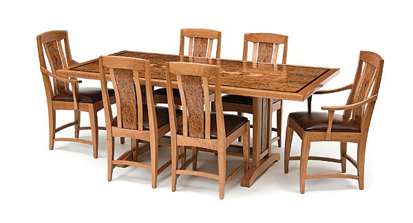 Asain and Arts and Crafts Dining Set - FineWoodworking