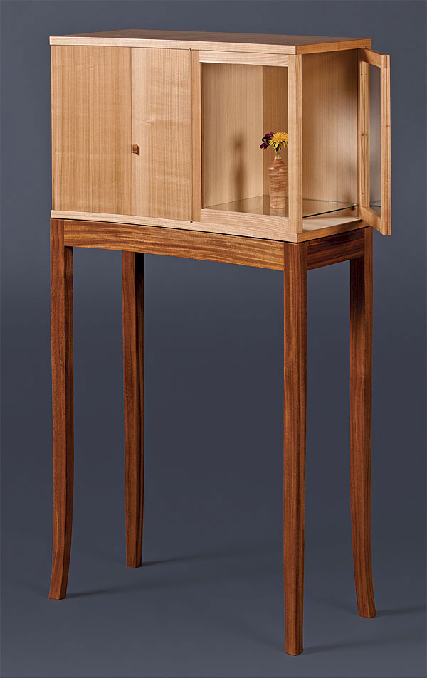 Krenov Inspired Cabinet On Stand Finewoodworking