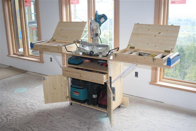 Merveilleux Finish Carpenteru0027s Dream Bench/Cabinet