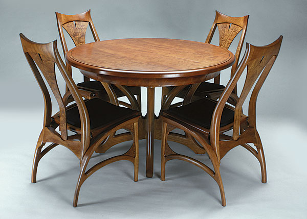 Cherry Dining Table Finewoodworking