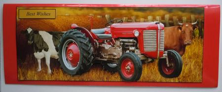 Scenic Farm Tractor Long Topper and Decoupage - CUP674522 ...