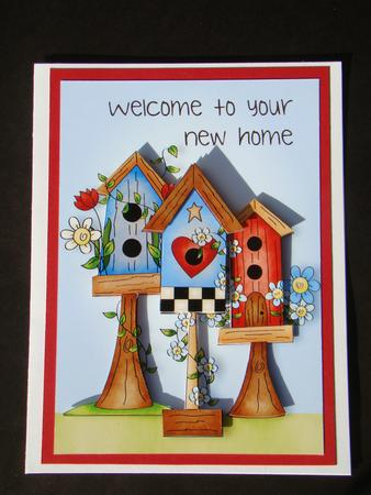 Welcome To Your New Home Birdhouse Cup4800181763 Craftsuprint