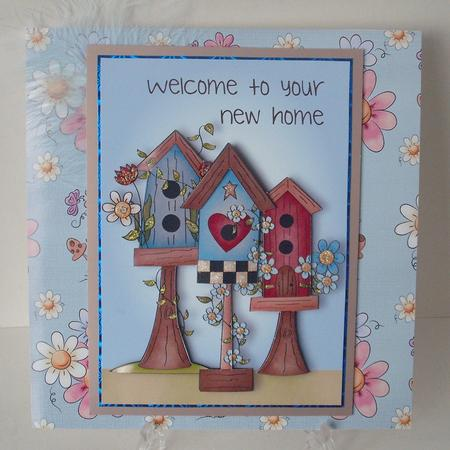 Blue Tape Sales >> Welcome to Your New Home - Birdhouse - CUP480018_1763 | Craftsuprint