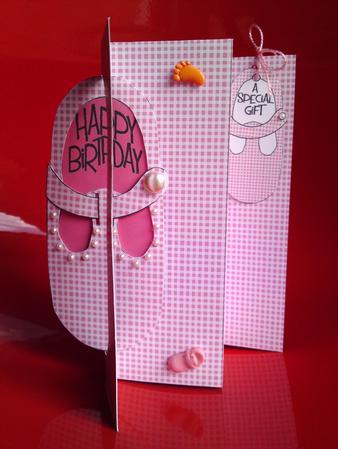 K Card Baby Girl Birthday Card Sheet 1 Cup147964470 Craftsuprint
