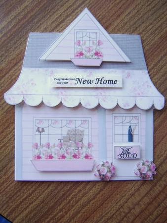 House Shaped Card Photo By Davina Rundle