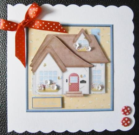 New Home Card Front With Decoupage And Sentiment Tags Cup406844 8