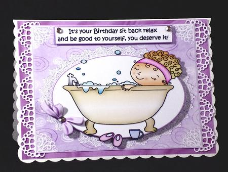 Relax And Enjoy Your Birthday Quick Card Cup516320 1209