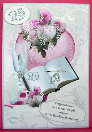 Silver Wedding Wishes