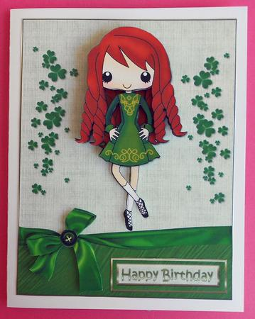 The Irish Dancer Girl Cup3275081209 Craftsuprint