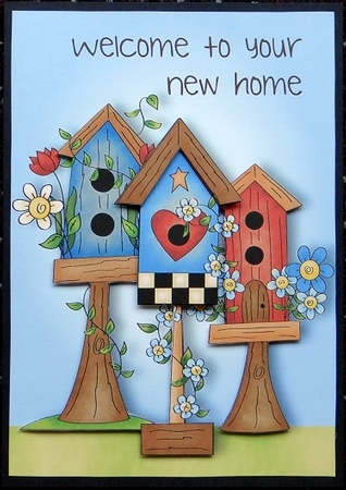 welcome to your new home birdhouse cup480018 1763