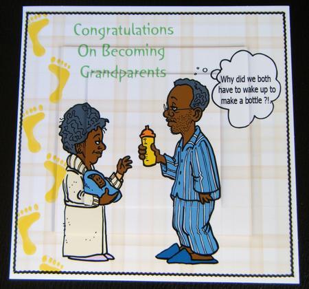 congratulations on becoming grandparents cup91589 698 craftsuprint