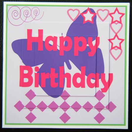 Funky Female Teenage Girl Birthday Card Cup93798698 Craftsuprint