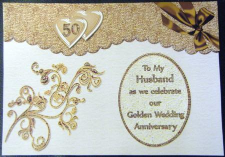 Nd wedding anniversary card romantic hessian and red heart