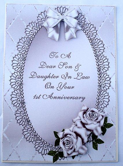 Lilac Roses 1st Wedding Anniversary