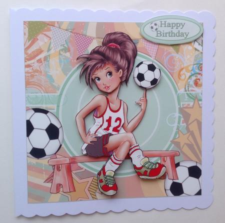 8x8 Tomboy Soccer Star Mini Kit Cup622560 1209