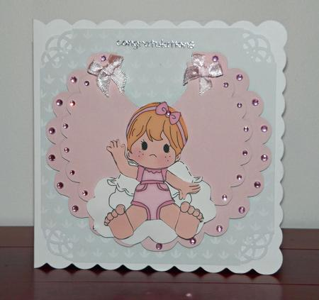 Flip Up Baby Bib Card Template Cu4cu
