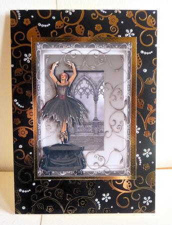 Gothic Ballerina Music Box
