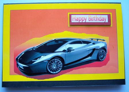 Happy birthday lamborghini