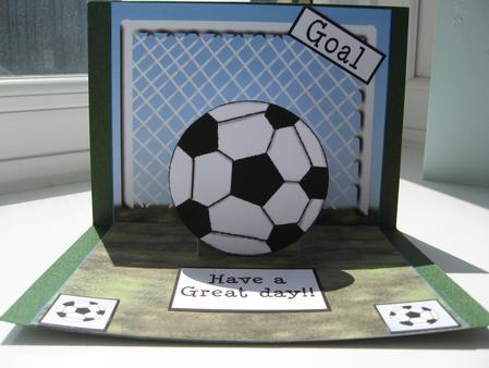 Football Pop Up Cup82556 63 Craftsuprint