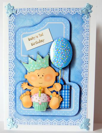Birthday card for one year old boy best birthday cake 2018 one year old boy birthday card this is a pop up w flickr bookmarktalkfo Gallery