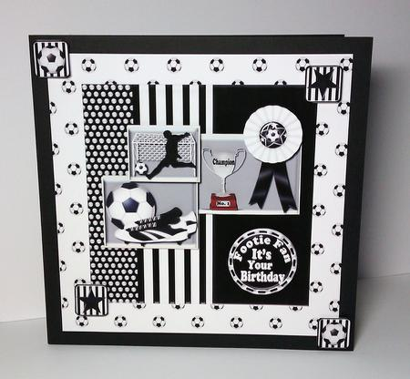 Black n white football cup4822171035 craftsuprint photographs from the community bookmarktalkfo Gallery