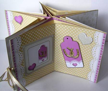 3d Wedding Carousel Card Kit Cup416094 359 Craftsuprint